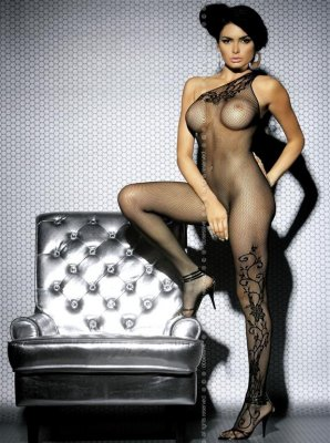 Catsuit BODYSTOCKING F203 S/M