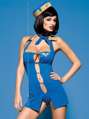 Sexy kostým AIR HOSTESS L/XL