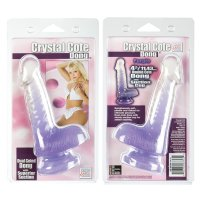 Dildo CRYSTAL COTE purple
