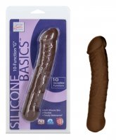 Vibrátor Silicone Basics G brown
