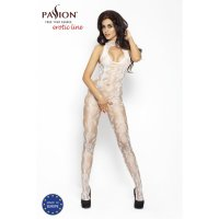 Catsuit PASSION BS009 biely S-L