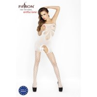 Catsuit PASSION BS021 biely S-L