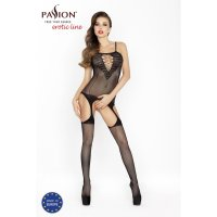 Catsuit PASSION BS024 čierny S-L