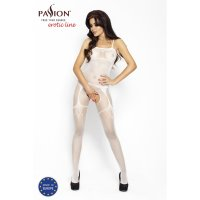 Catsuit PASSION BS006 biely S-L