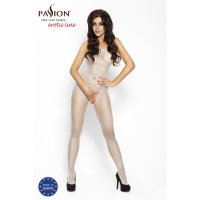 Catsuit PASSION BS010 biely S-L