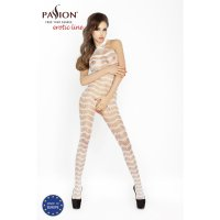 Catsuit PASSION BS022 bielej S-L