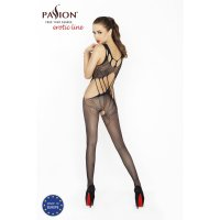 Catsuit PASSION BS030 čierny S-L