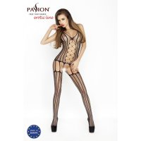 Catsuit PASSION BS013 čierny S-L