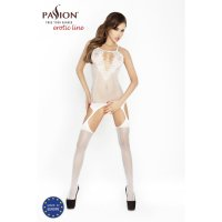 Catsuit PASSION BS024 biely S-L