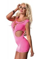 Šaty Mini Dress NEON pink