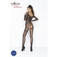 Catsuit PASSION BS031 čierny S-L
