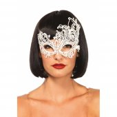 Maska FANTASY VENETIAN EYE MASK white