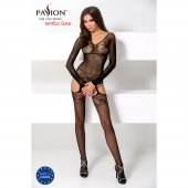 Catsuit PASSION BS055 čierny S-L