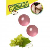 Olej telový BRAZILIAN 2 BALLS SET grape