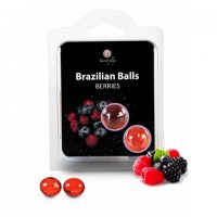 Telový olej BRAZILIAN 2 BALLS SET berries