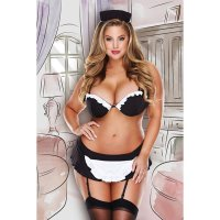 Súprava DIRTY LAUNDRY FRENCH MAID SET XXL
