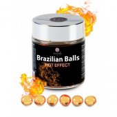 Telový olej BRAZILIAN HOT EFFECT 6 BALLS SET