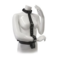 Bondage BLAZE RESTRAINT BODY HARNESS WITH COLLAR