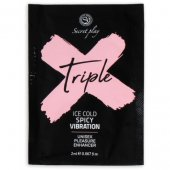 Gél SECRET PLAY TRIPLE X MONODOSE 2 ml