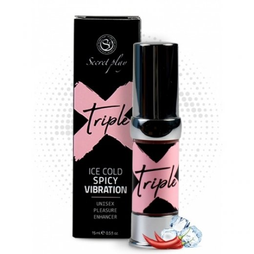 Gél SECRET PLAY TRIPLE X 15 ml