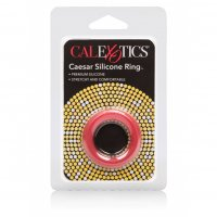 Krúžok na penis California Exotic Caesar Silicone Ring red