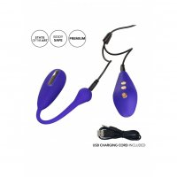 Vibračné vajíčko CalExotics Impulse ESTIM REMOTE KEGEL EXERCISER