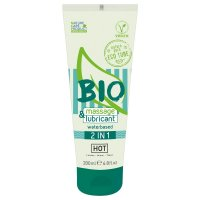 Lubrikačný gél HOT BIO waterbased 2in1 200 ml