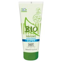 Lubrikačný gél HOT BIO waterbased Super 100 ml
