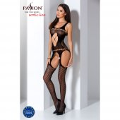Catsuit PASSION BS057 čierny S-L