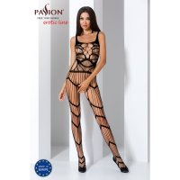 Catsuit PASSION BS058 čierny S-L