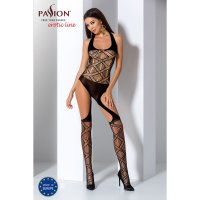 Catsuit PASSION BS060 čierny S-L