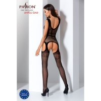 Catsuit PASSION BS062 čierny S-L