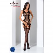 Catsuit PASSION BS066 čierny S-L