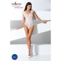 Catsuit PASSION BS064 biely S-L