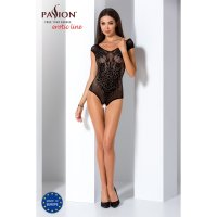 Catsuit PASSION BS064 čierny S-L