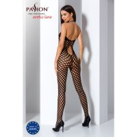 Catsuit PASSION BS065 čierny S-L