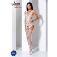Catsuit PASSION BS066 biely S-L