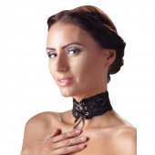 Obojok krajkový Cottelli Collection CHOKER LACE black