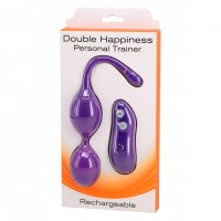 Vibračné kuličky Seven Creations DOUBLE HAPPINESS Trainer