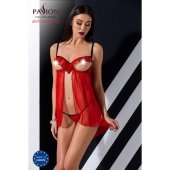 Košielka Passion CHERRY CHEMISE red L/XL