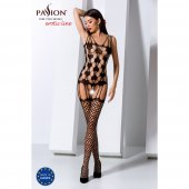 Catsuit PASSION BS067 čierny S-L