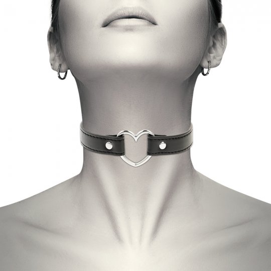 Obojok COQUETTE HAND CRAFTED CHOKER HEART